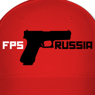 Design ~ Ball Cap : FPS Russia (White / Black)