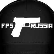 Design ~ Ball Cap : FPS Russia (White)