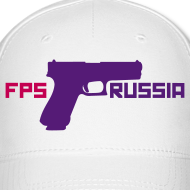Design ~ Ball Cap : FPS Russia (Purple)
