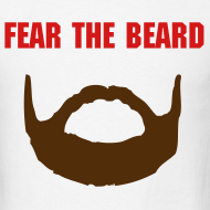 Design ~ Fear the Beard - Buffalo on Back (M)