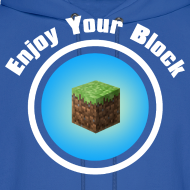 Design ~ Enjoy Your Block - Men's Hoodie