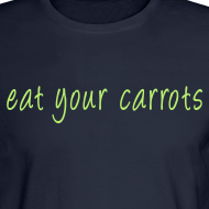 Design ~ Shirt for Mal - Eat Your Carrots