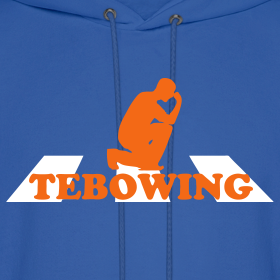 Design ~ Gator Blue Tebowing Hoodie - Beatles
