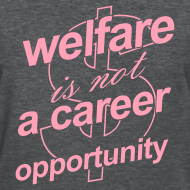 Design ~ Welfare is not a Career Opportunity - Women's T