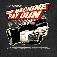 Design ~ Time Machine Ray Gun Vintage