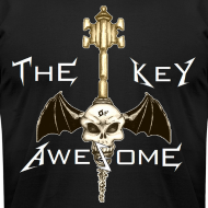 Design ~ METAL Key of Awesome! Men American Apparel