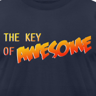 Design ~ The Key of Awesome Logo Men American Apparel