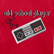 Old School Player T-Shirts