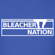 Design ~ Bleacher Nation Logo Standard Weight T-Shirt (Men's)