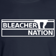 Design ~ Bleacher Nation Logo Long Sleeve Shirt  (Men's)