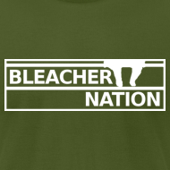 Design ~ Bleacher Nation Logo American Apparel T-Shirt (Men's)
