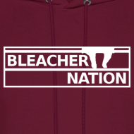 Design ~ Bleacher Nation Logo Hooded Sweatshirt (Men's)