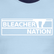 Design ~ Bleacher Nation Logo American Apparel Ringer T (Men's)