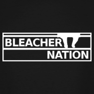 Design ~ Bleacher Nation Logo Tall T-Shirt (Men's)