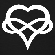 Exclusive Copyrighted Poly Tees Infinity-Heart
