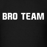 Design ~ Bro Team White Words