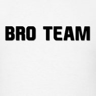 Design ~ Bro Team Black Words