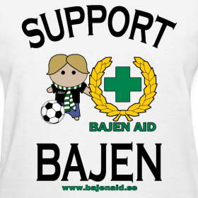 Design ~ Support Bajen - Lt. Tee
