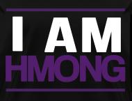 i am hmong  purple  dapple apparel Original Run DMC Logo Font Run DMC Logo No Color