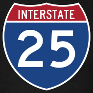 Design ~ Interstate 25 - Mens