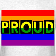 Design ~ PROUD Men's T-Shirt