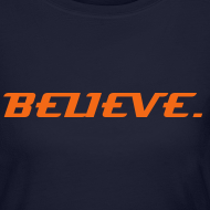Design ~ BELIEVE. in TRT_GEAR (Women's Long Sleeve T)