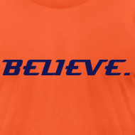 Design ~ BELIEVE. T-SHIRT (ORANGE CRUSH)