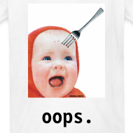 Design ~ Baby with Fork in Head FOR KIDS!