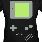 Woman's Game Boy (Black)