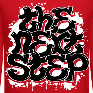 Design ~ The Next Step 2.0 Graffiti Crewneck Red, Navy, Black, Gray