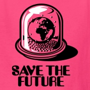 World Snow Globe - Save the future 2c Kids' Shirts