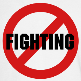 No Fighting Sign No Fighting | 55927