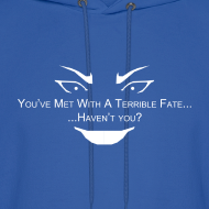 Design ~ Terrible Fate Men's Hoodie Sweatshirt