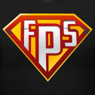 Design ~ Ladies V-Neck : FPS Super Hero Shirt