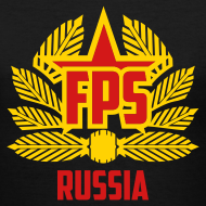 Design ~ Ladies V-Neck : Special Edition FPS Russia