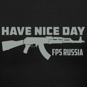 Design ~ Ladies V-Neck : Have Nice Day