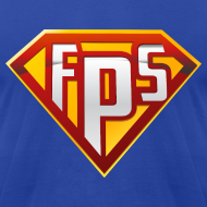 Design ~ American Apparel Tee : FPS Super Hero