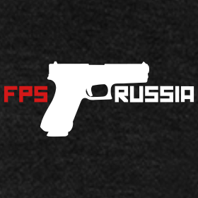 Design ~ American Apparel Zipper : Fps Russia Gun Logo