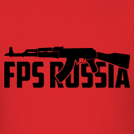 Design ~ Mens Tee : FPS Russia AK
