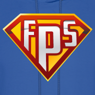Design ~ Mens Hoodie : FPS Super Hero