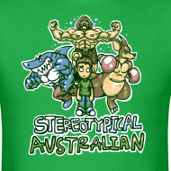 Design ~ STEREOTYPICAL AUSTRALIAN M