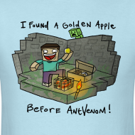 Design ~ Men's T-Shirt: Steve's Golden Apple