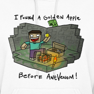 Design ~ Women's Hoodie: Steve's Golden Apple