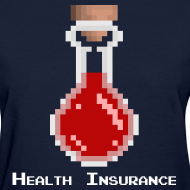 Design ~ Health Coverage Women's Standard Weight T-Shirt