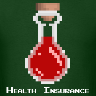 Design ~ Health Coverage Men's Standard Weight T-Shirt