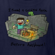 Design ~ Kid's T-Shirt: Steve's Golden Apple