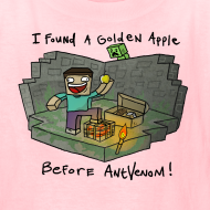 Design ~ Kid's T-Shirt: Steve's Golden Apple