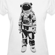 Astronaut HD Design Women's T-Shirts