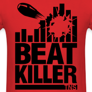 Design ~ Beat Killer Black Text