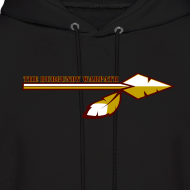 Design ~ Men's Burgundy Warpath Hoodie